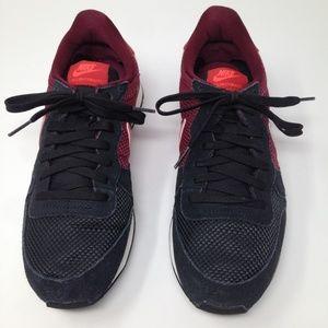 Nike International Black Crimson Women Size 9.5